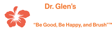 Dr. Glen's Happy Teeth logo
